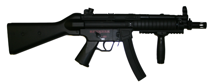 CYMA MP5 RAS Blue Limited Edition, metallinen (CM.041B)