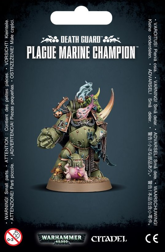 Plague Marine Champion ( Death Guard )