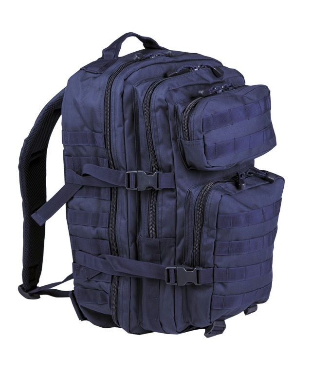 Mil-Tec Assault Pack Large, tummansininen 40 l