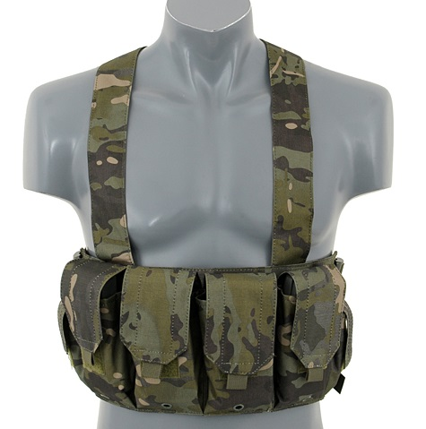 Chest rig, mag carrier, Multicam Tropic