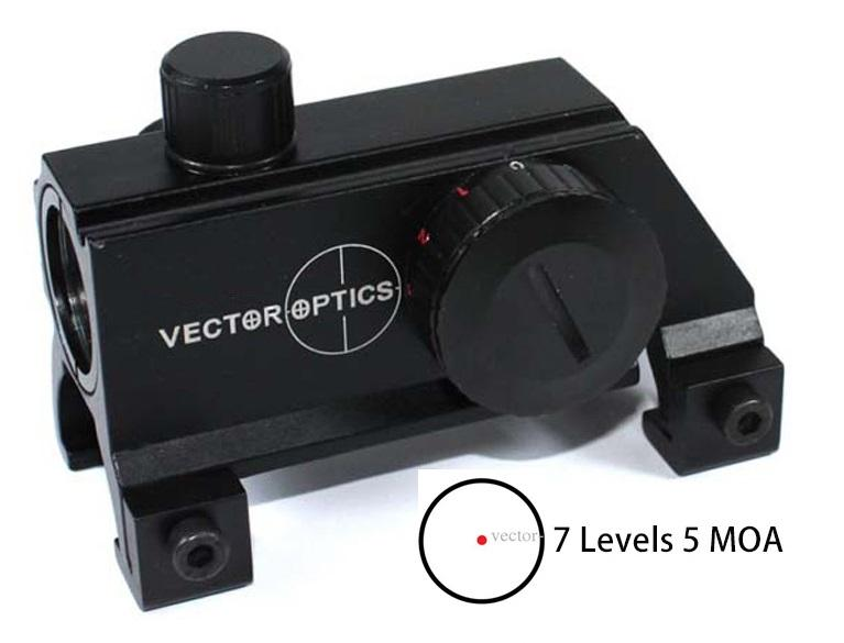 Vector Optics Claw MP5 / G3 punapistetähtäin (SCRD-15)