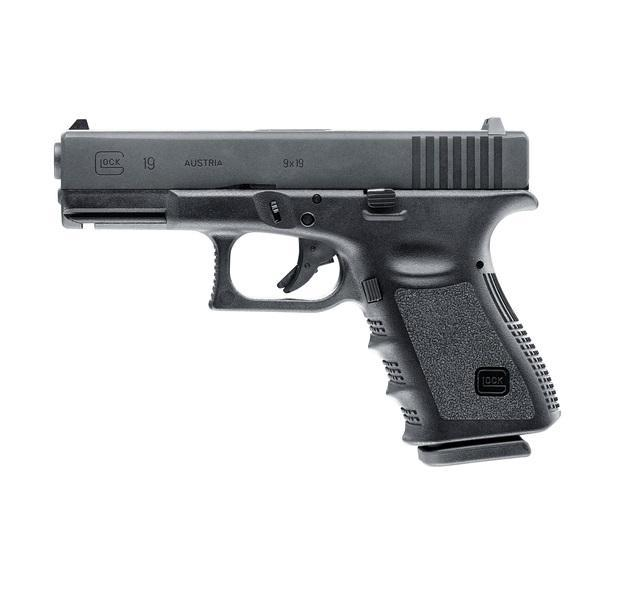 VFC / Umarex Glock 19 Gen 3, gas blow back, metalliluisti