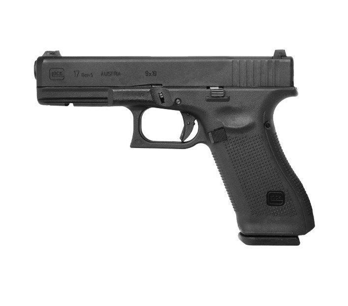 Umarex Glock 17 Gen 5, CO2 blow back, metalliluisti