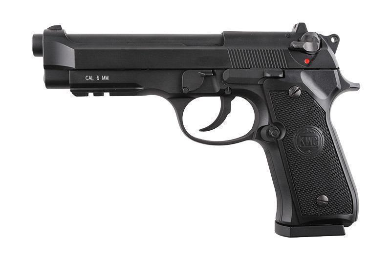 KWC M92FS BlowBack CO2 pistooli, metallinen
