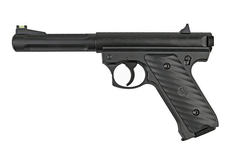 KJ Works Ruger MK2 NBB CO2 pistooli, metallinen