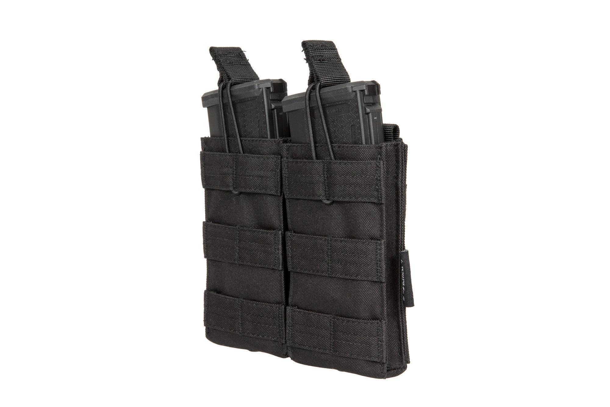 Viper Tactical Quick Release Molle AK/M4/M16 tuplalipastasku - musta