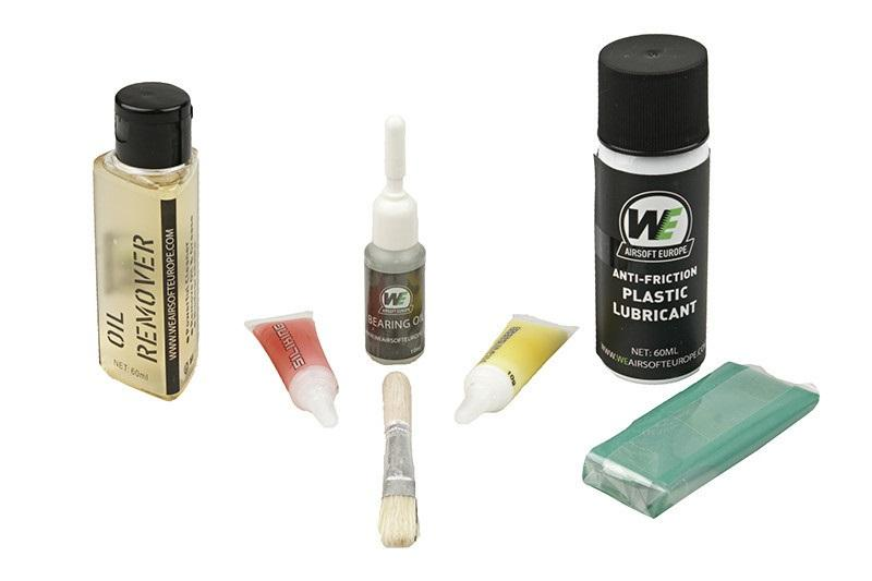 Nuprol Airsoft Maintenance Kit - huoltosarja