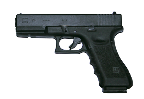 WE G17 Gen 3, blow back, metalliluisti