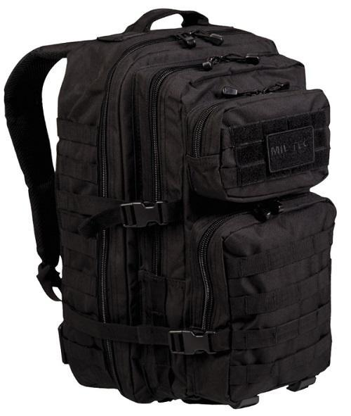 Mil-Tec Assault Pack Large, musta 40 l