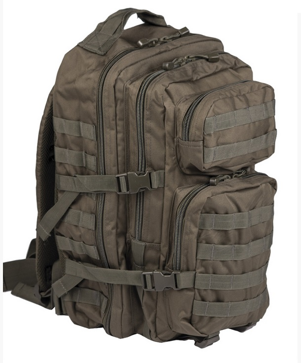 Mil-Tec Assault Pack Large, oliivinvihreä 40 l