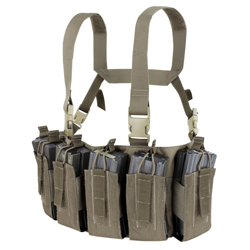 Condor Barrage Chest Rig (US1051), ranger green