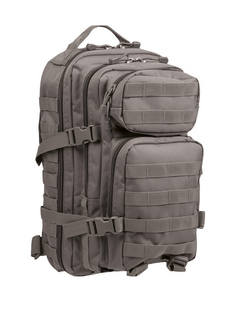 Mil-Tec Assault Pack, urban harmaa 20 l