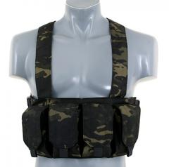 Chest rig, mag carrier, multicam black