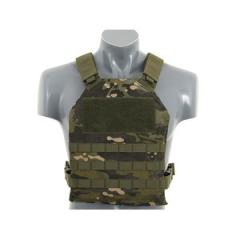Simplified Molle Plate Carrier -taisteluliivi, Multicam Tropic