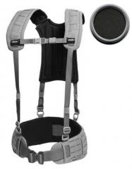Templars Gear H-valjaat (4 point H-harness), Musta