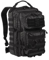 Mil-Tec Tactical Black reppu, large, musta