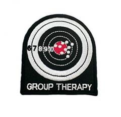 ''Group Therapy''-kangasmerkki, velkrolla