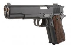 WE M19 Double Barrel handgun Gas pistol, Black