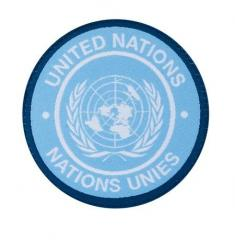 Clawgear United Nations, Nations Unies hiha- / barettimerkki