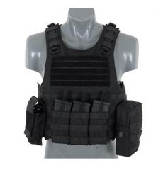 8Fields Molle FSBE carrier, musta