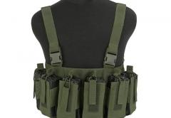 Gryffon Defense CR4 Low Profile, chest rig, oliivinvihreä