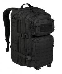 Mil-Tec Laser Cut Assault reppu Large, musta 40 l