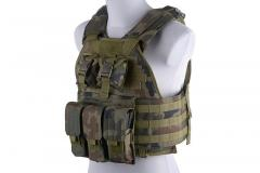 Plate Carrier Tactical Vest - WZ.93 Woodland Panther
