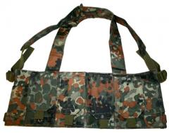 Chest rig, mag carrier, flecktarn