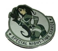 "Mil-Spec Monkey ""Special Night Time Service"" -merkki, foliage, velkro"