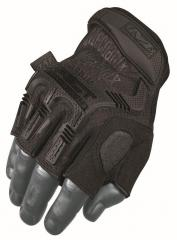 Mechanix Wear M-Pact Fingerless hansikkaat, musta