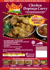 Hot Pack Curry-kana dopiaza 300g