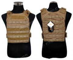 Pantac MOLLE Tactical PC Vest (928-TN), khaki