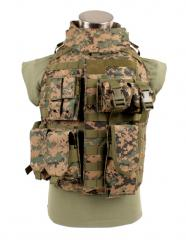 Body Armor Vest (IBA), digital woodland