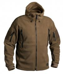 Helikon Patriot Heavy Fleece Jacket, kojootinruskea