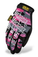 Mechanix Wear Original naisten hansikkaat, pink camo