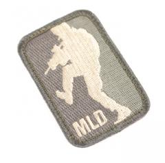 "Mil-Spec Monkey ""MLD"" -merkki, foliage (ACU-Light), velkro"