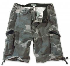 Vintage army shortsit, kivipestyt, night camo