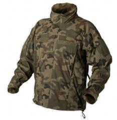 Helikon APCU Level 5 Softshell takki, PL woodland