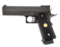 WE Hi-Capa .45, blow back, metallinen