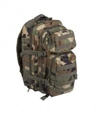 Mil-Tec Assault reppu, woodland 20 l