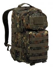 Mil-Tec Assault reppu, flecktarn 20 l